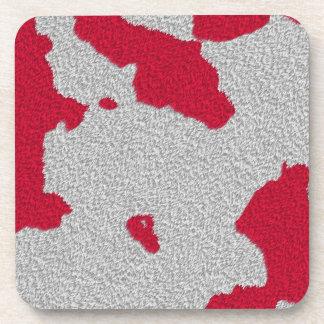 red splat coaster