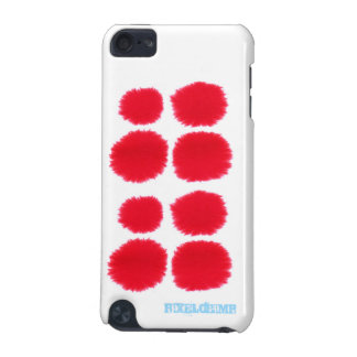 Red Splats iPod Touch (5th Generation) Cover