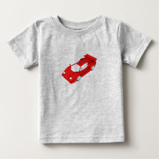 Red Sports Car Baby T-Shirt