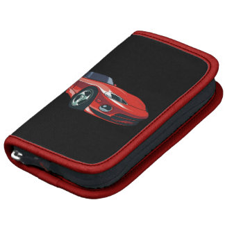 Red Sports Car Planners