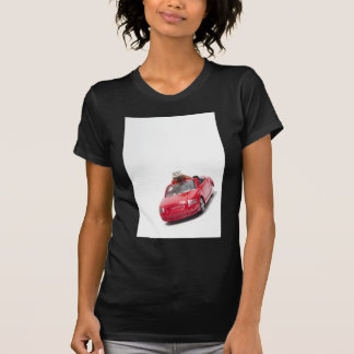 red sports car with a diamond ring T-Shirt