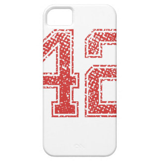 Red Sports Jerzee Number 42 iPhone SE/5/5s Case