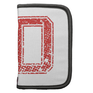 Red Sports Jerzee Number 50 Folio Planner