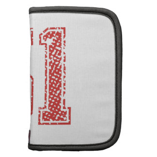 Red Sports Jerzee Number 51 Planner
