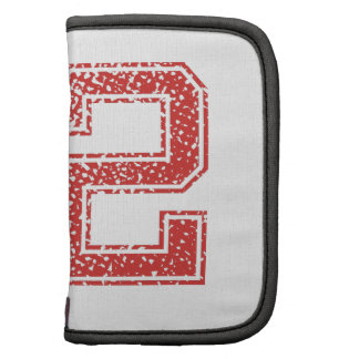 Red Sports Jerzee Number 52 Folio Planners