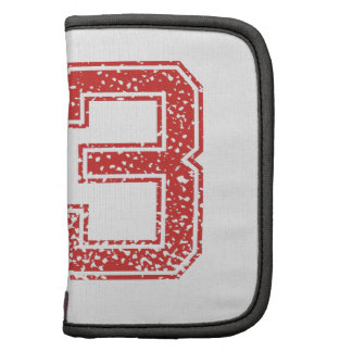 Red Sports Jerzee Number 53 Folio Planner