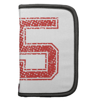 Red Sports Jerzee Number 55 Planner
