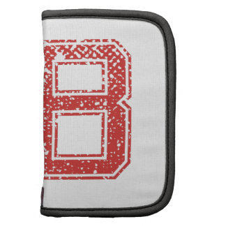 Red Sports Jerzee Number 58 Organizers