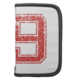 Red Sports Jerzee Number 59 Planner