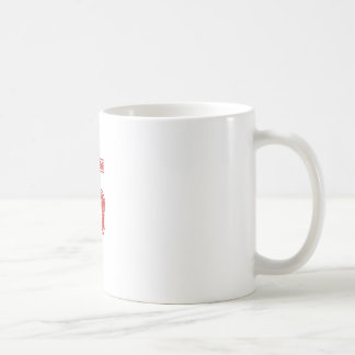 Red Sports Jerzee Number 5 Coffee Mug