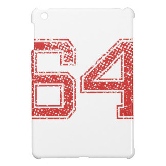 Red Sports Jerzee Number 64 iPad Mini Cover