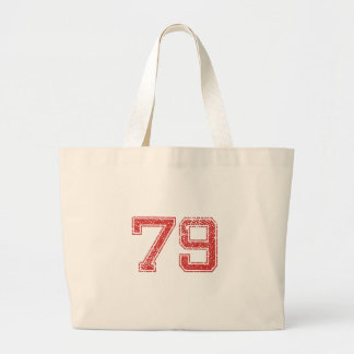 Red Sports Jerzee Number 79 Bags
