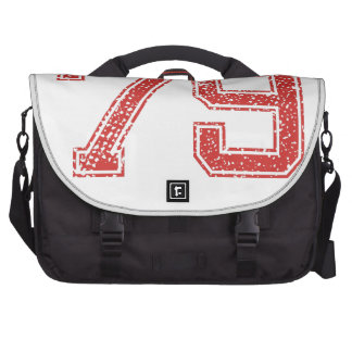 Red Sports Jerzee Number 79 Commuter Bags