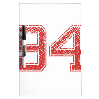 Red Sports Jerzee number 94 Dry-Erase Board