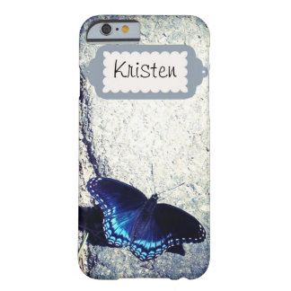 Red Spotted Admiral Butterfly Barely There iPhone 6 Case
