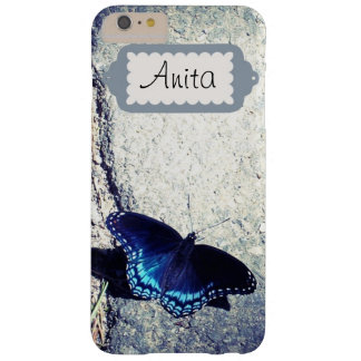 Red Spotted Admiral Butterfly Barely There iPhone 6 Plus Case
