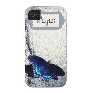 Red Spotted Admiral Butterfly iPhone 4/4S Case