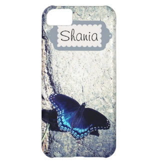 Red Spotted Admiral Butterfly iPhone 5C Case