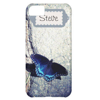 Red Spotted Admiral Butterfly iPhone 5C Cover