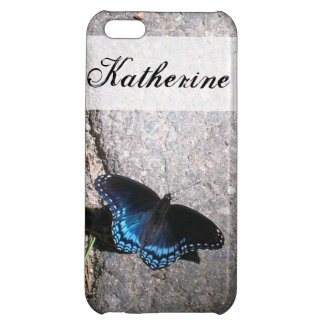 Red Spotted Admiral Butterfly iPhone 5C Covers