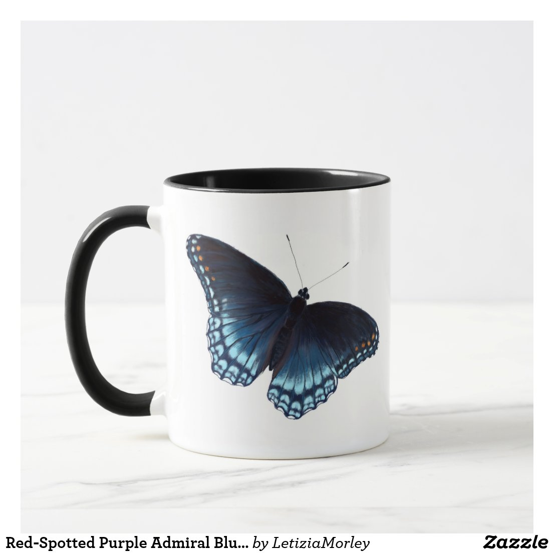Red-Spotted Purple Admiral Butterfly Mug