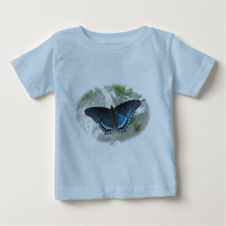 Red Spotted Purple Butterfly Baby T-Shirt