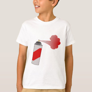 Red Spray Paint Can T-Shirt