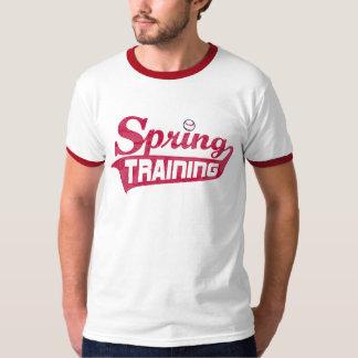 Red Spring Training Shirt