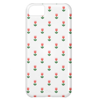 Red Spring Tulip Flowers iPhone 5C Cover