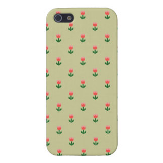 Red Spring Tulip Flowers iPhone SE/5/5s Cover