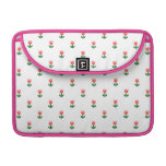 Red Spring Tulip Flowers Sleeves For MacBook Pro