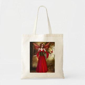 Red Springtime Fairy Bag