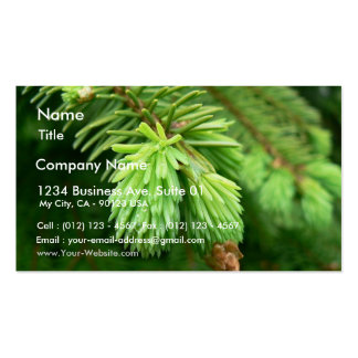Red Spruce Sprouts Business Card