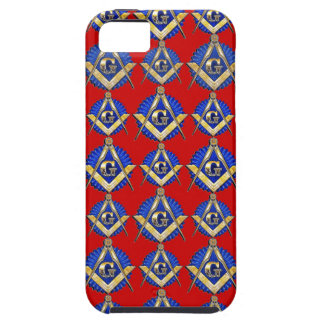 Red Square & Compass Mason iPhone 5 Cases