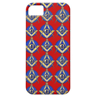 Red Square & Compass Mason iPhone 5 Case