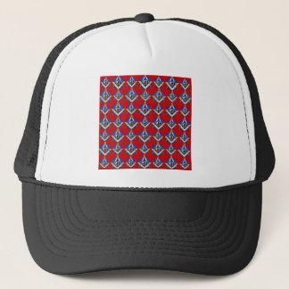 Red Square & Compass Mason Trucker Hat