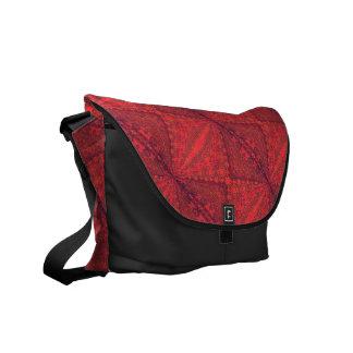 Red Square Design Rickshaw Messenger Bag