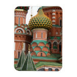 Red Square in Moscow, Russia.  Photographed on a Rectangular Photo Magnet