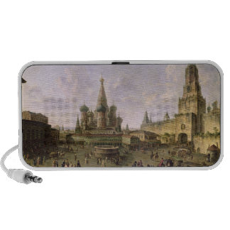 Red Square, Moscow, 1801 Travelling Speakers