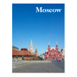 Red Square. Moscow Postcards