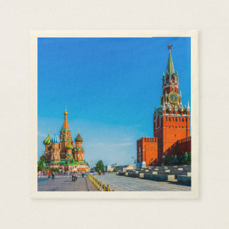 Red Square of Moscow Napkin