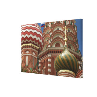 Red Square, Russian Federation Canvas Print