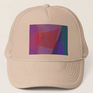 Red Square Time Warp Trucker Hat