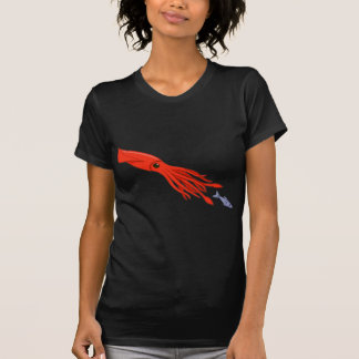 Red Squid Chase T-Shirt