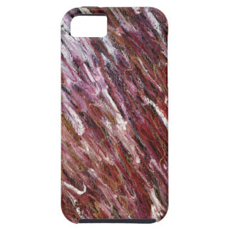 Red Squiggle iPhone 5 Case