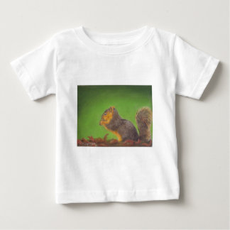 Red Squirrel Baby T-Shirt