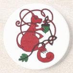 Red Squirrel coaster