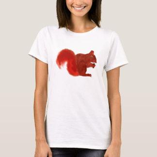 Red Squirrel Cute Woodland Animal T-Shirt
