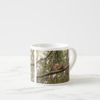 Red Squirrel Espresso Cup