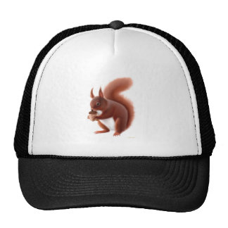 Red Squirrel Hat